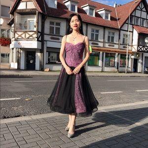 Lace purple dress 👗